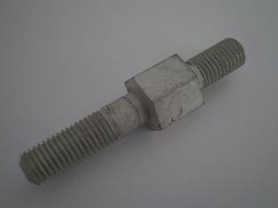 6114-36  rear safety guard bolt, cadmium