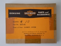 2271-41/10pck  top cover gasket, NOS