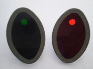 4524-41M & 4525-41M  blackout cat eye panel base lens set