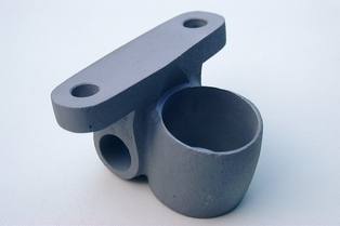 2802-09  drop forged & machined engine mount rear casting
